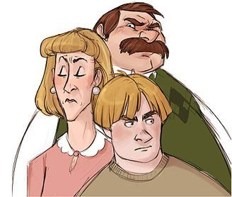 Dudley, Vernon & Petunia Dursley are fat and mighty but Harry Potter can take them